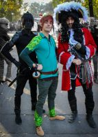 Peter Pan and Captain Hook by NDC880117