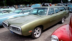 70 Dodge Coronet wagon by smevcars