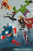 The Avengers by Fuacka
