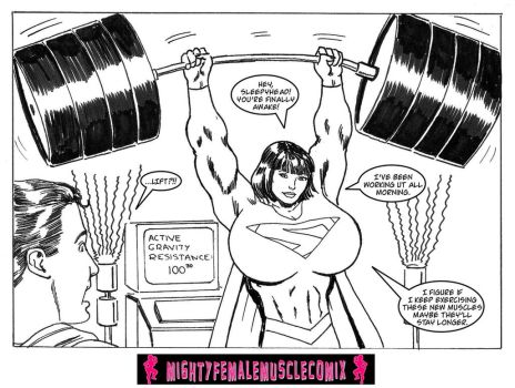 Not So Super... Man Sample 3 by SteeleBlazer84