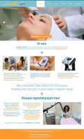 Beauty salon homepage by duduOmag