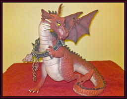 Shrek Dragon by Thornacious