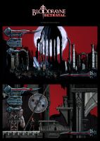 BloodRayne Game Interface by karsten