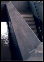 Concrete stairs by rosannakp