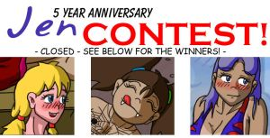 The BIG Jen-Fan 5 Year Anniversary CONTEST! by illionore