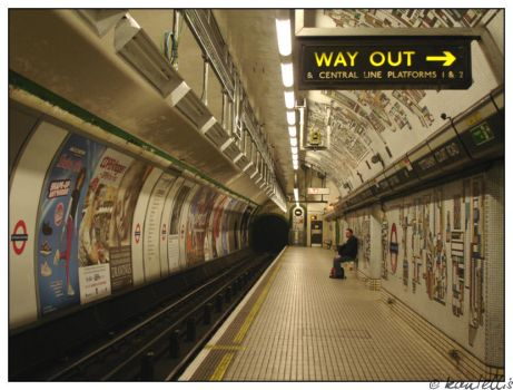 Way out II by kantellis