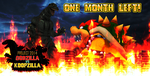 GXKZ One Month Left Poster by KingAsylus91