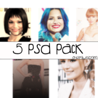5 Psd Coloring Pack by AyegulObrien
