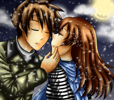 kiss me slowly by mo0on3