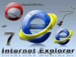 IE7 Icon by spider4webdesign