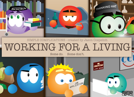 SC: Ch.24 - WORKING FOR A LIVING by simpleCOMICS