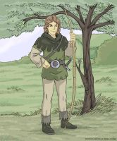 Young Robin Hood by MythAdvocate