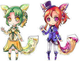 [AUCTION] Glass Tails 2 (CLOSED) by PlatinaCreari