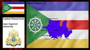 Greater Khmer Empire (mapping) by DimLordofFox