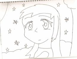 Mary Night Pic Uncolored by ShadowFire90