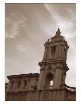 Sant Agnese in Agone church by historical-shots