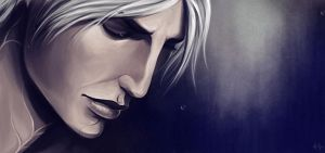 Dragon Age 2: Fenris (animated) by Riku-Noiro