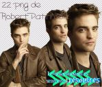 Pack png Robert Pattinson by steinvach