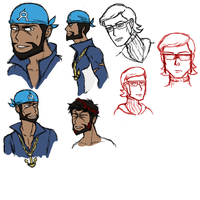 More Oras Doodles by ZappyAttack