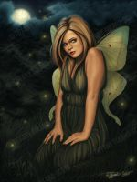 Moon Moth by Tiffany Toland Scott Tiffanys Rea by autumnsmuse