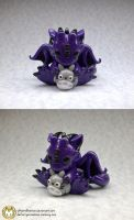 Dragon with Totoro by whitemilkcarton