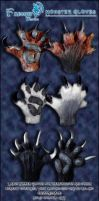 FarumirWorks - Monster Paws commissions prices by Farumir