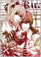 Death Note: 'Misa and Raito' by Arehandora