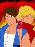Double Dragon _ The Heroes by regnasis