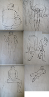 Life Drawing 1 by Phinnimonster