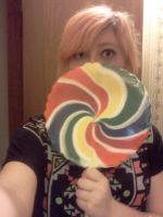 Giant Lollipop!! by SammySkitz