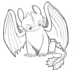 HTTYD: Toothless, the Night Fury by Alexbee1236
