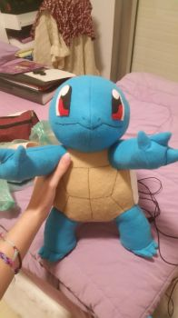 Big Squirtle plushie ! by FPDC