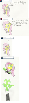 Ask Green Lantern Fluttershy 3 by The-rogue-shadow