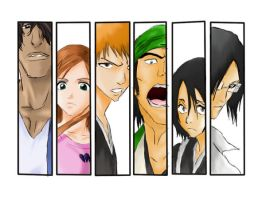 Bleach Characters by deviantmaniatic