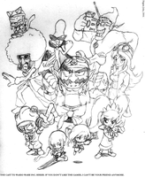 Wario Ware: Life's a Party by PilgrimJohn