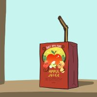 Sweet Apple Acres Apple Juice by DocWario
