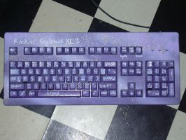 Rockstar XL Keyboard by Catwoman69y2k
