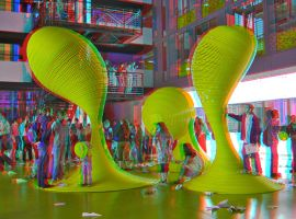 Computing faculty Anaglyph 3D by zour