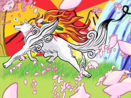 Okami Contest Entry by DEugenio