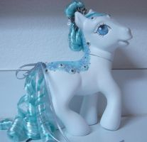 MLP Custom Styling Sized Glittering Ice by colorscapesart
