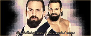 WWE: Damien Sandow Banner by KamenRiderReaper