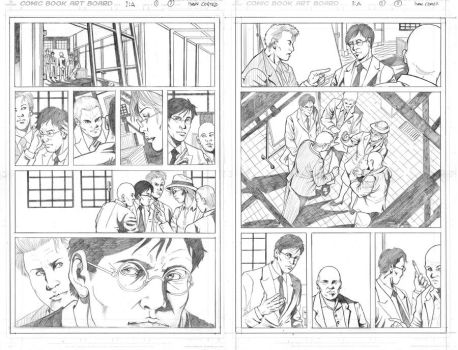 Pencil pages samples 2 by ivancortezvega