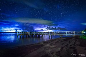 Blue Skies and Storms by andyhutchinson