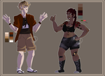 [CLOSED] Human Adoptables by Cani-bal