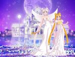 Queen Serenity and Princess Serena by LadyIlona1984
