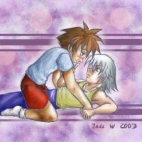 Riku X Sora Shoujoy by maverick-jade