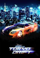 Tokyo Drift Poster by Xiox231