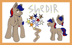 Shedir Small Ref [Commission] by lavacookiie