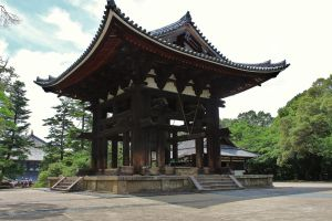 Todai-ji Temple Belfry by galleleo