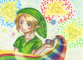 Contest entry-young Link by Sapphire-Blossom-Mai